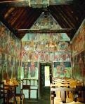 Интерьер базиликального храма Преображение Господне в Палехори. XVI век. Охраняется ЮНЕСКО.