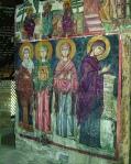 Росписи наружных стен базиликального храма Честного Креста Агиасмати близ Платанистаса. XV век. Художник Филипп Гул. Охраняется ЮНЕСКО.