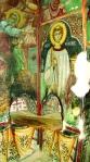 Фрески алтарного пространства «Жертвоприношение Авраама» и образ дьякона-первомученика Стефана. 1520 г. Церковь Пресвятой Богородицы в Какопетрии.