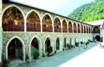 Аркадная галерея. Верхний двор Киккского монастыря.
