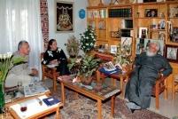 Беседа с настоятелем обители Пресвятой Богородицы Хрисороятиссы