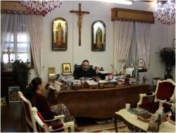 Рождественская встреча с Вдадыкой Исайей