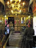 Рождественская служба на русском языке в храме Святого Николая
