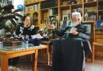 Встреча с настоятелем монастыря Богородицы Хрисороятиссы