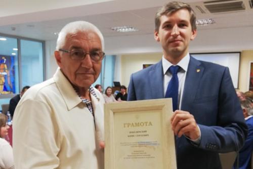 Директор издательской компании «YIANEL» Борис Победимский был награжден Почетной грамотой Правительственной комиссии по делам соотечественников за рубежом.