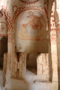 Апсида скальной церкви Святой Варвары. XI в