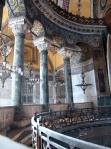 Балкон. Святая София Константинопольская