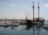 В Пафосской гавани