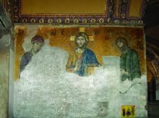Деисус. Мозаика. Конец XIII века. Южная галерея