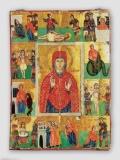 Житийная икона Святой Марины, XIX в.