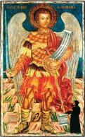 Икона Архангела Михаила. 1782. Михаил Кипрский