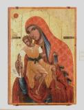 Икона Богородицы Елеусы Киккской, XVI в.