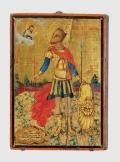 Икона Святого Христофора Песьеглавца, XIV в.