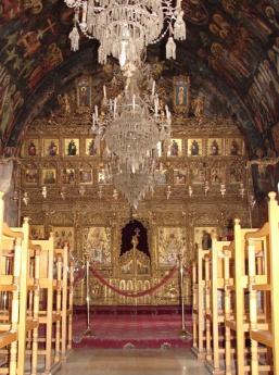 Иконостас Собора Святого Иоанна Богослова в Никосии