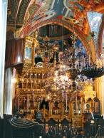 Иконостас главной церкви монастыря