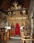 Иконостас храма ПреображенияГосподня
