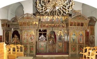Иконостас храма Пресвятой Богородицы Ангелоктисти