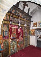Иконостас храма Пресвятой Богородицы Елеусы