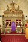 Иконостас храма Пресвятой Богородицы Хрисолиниотиссы