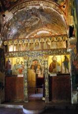Иконостас храма Святого Николая под крышей, XVII век.
