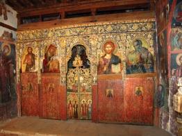 Иконостас храма Честного Креста Агиасмати