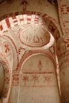 Интерьер скальной церкви Святой Варвары. XIв