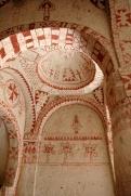 Интерьер скальной церкви Святой Варвары. XI в