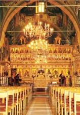 Интерьер церкви монастыря Святого Прокопия