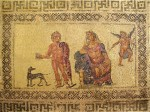 Ипполит и Федра,Мозаика