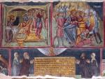 Росписи Храма Святого Мамаса, XVв.