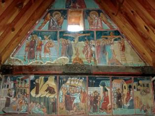 Росписи храма Арчангела Михаила, XVI в.