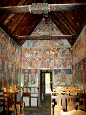 Росписи храма Преображения Господня, XVI в.