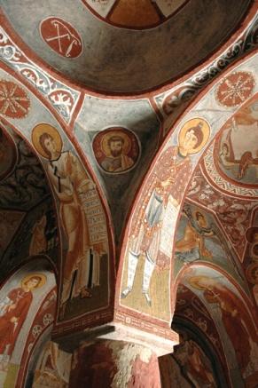Росписи церкви Эльмалы, XI - XII в