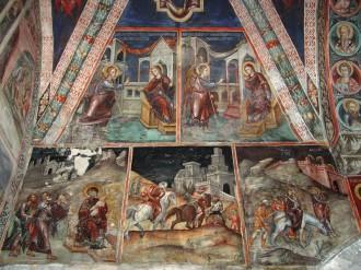 Роспись Латинской часовни монастыря Святого Лампадистиса, XV в.