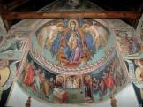 Роспись алтарного пространства цуркви Богородицы Подиту, 1502 г.