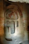 Роспись апсиды скальной церкви Святой Екатерины. XIв