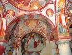 Роспись апсиды. Церковь Эльмалы, XI – XIIв