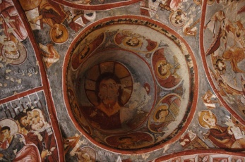 Роспись купола скальной церкви Чарыклы. XI в