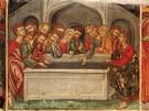 У пустой гробницы Богородицы, XVI в.