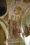 Фреска Равноапостольных Константина и Елены скальной церкви Святой Екатерины. XIв