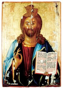 Христос Пантократор. Конец XVIII века. Иоанн Корнаро