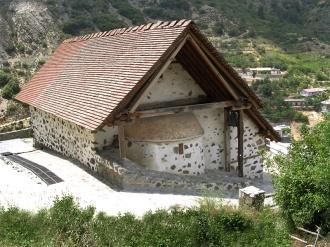 Церковь Богородицы Мутуллас, XII в.
